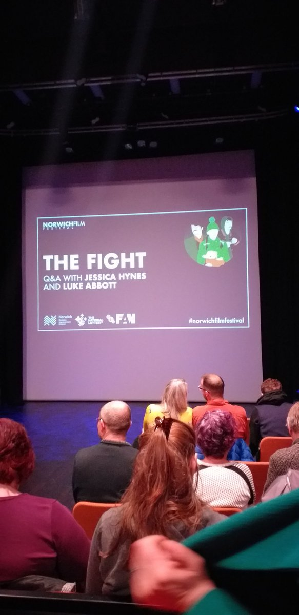 ready and waiting, should be great #NFF2019 <br>http://pic.twitter.com/fkoKpXwKIb – à Norwich Theatre Royal