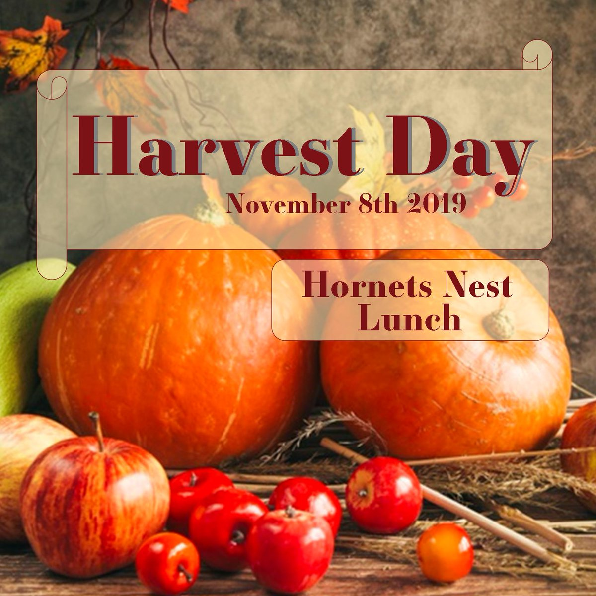 Join us in the Nest today for Harvest Day! Enjoy delicious pies, hot chocolate and hot apple cider.   @esuUNION  #esunest #harvestday #applecider #pie #yumyum
