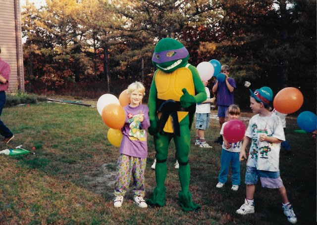 Donatello is trending cause of ME & my 90s bday party