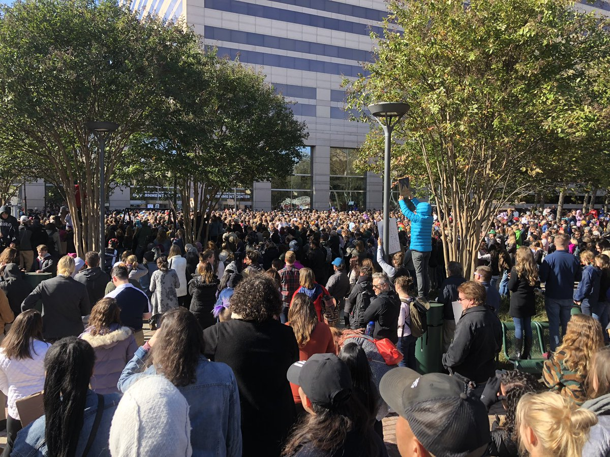 Charlotte, North Carolina right now! #climatestrike #FridaysForFuture