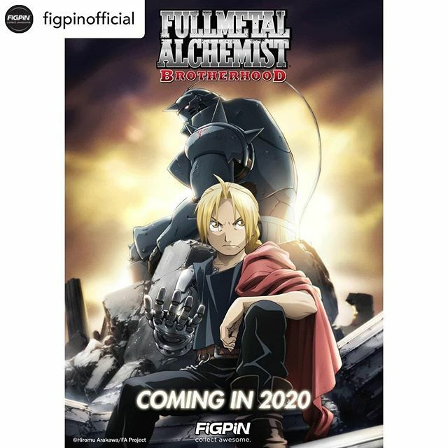 One more anime reveal, although this was already hinted during SDCC and other conventions! Posted @withrepost • @figpinofficial Fullmetal Alchemist: Brotherhood FiGPiNs will also be coming in 2020!  #FullmetalAlchemist #FullmetalAlchemistBrotherhood …  https:// ift.tt/34Jr0K0    <br>http://pic.twitter.com/j0MEcc3Xb1