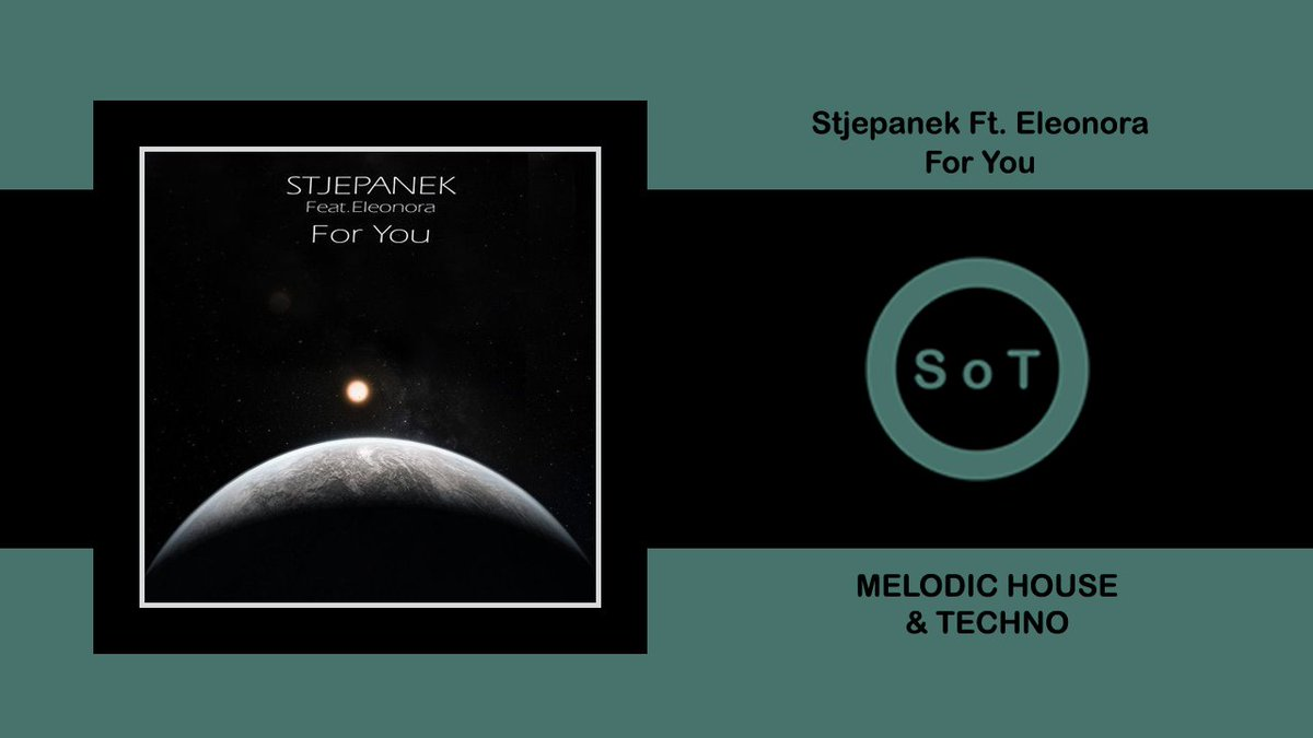 Stjepanek Feat. Eleonora - For You (Extended Mix) [Melodic House & Techno] [Three Hands Records]  Listen it on YouTube ☞ https://youtu.be/qIX6OutoTlk  #stjepanek #eleonora #foryou #originalmix #threehandsrecords #melodic #techno #house #melodictechno #melodichouse #technomixpic.twitter.com/XsK7G4dFGt