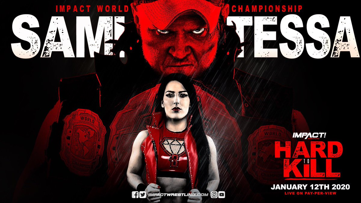 Tessa Blanchard Facing Impact World Champion Sami Callihan For The Title At Hard To Kill PPV