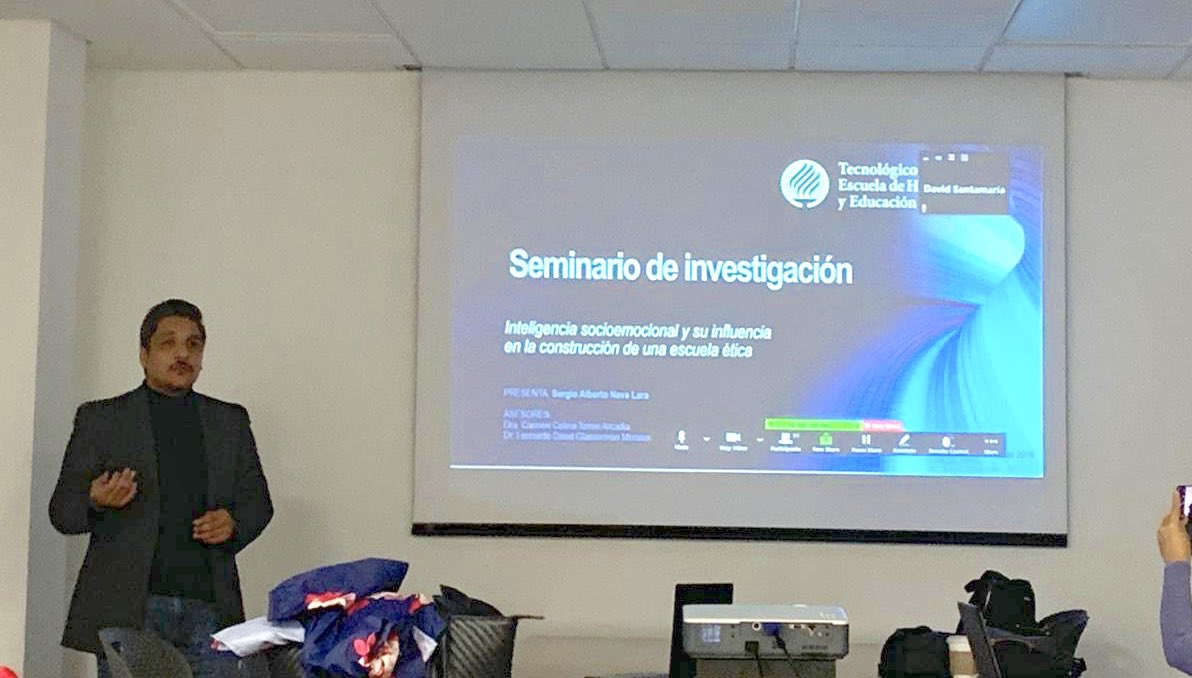Presentación de avances de investigación. Mucho aún por construir.  #educacionbasica #ethicschool #socioemotional #sel  #phdchat #phdlife