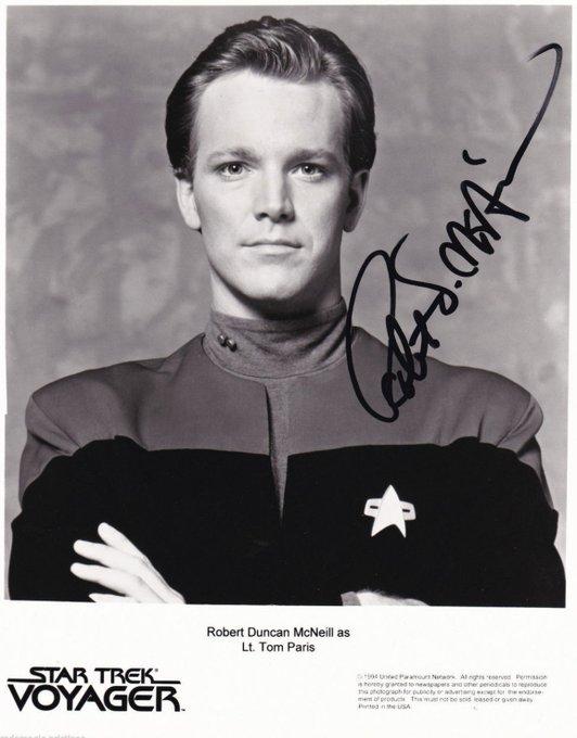 Happy Birthday to NCC-74656\s Robert Duncan McNeill. Star Trek: Voyager