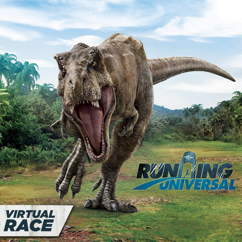 VIRTUAL RACE NOW OPEN! Run or walk from anywhere for the 5K, the first-ever 10K, or both to complete The Challenge event at #RunningUniversal Featuring Jurassic World. Sign up for our virtual race today! bit.ly/32wffVy