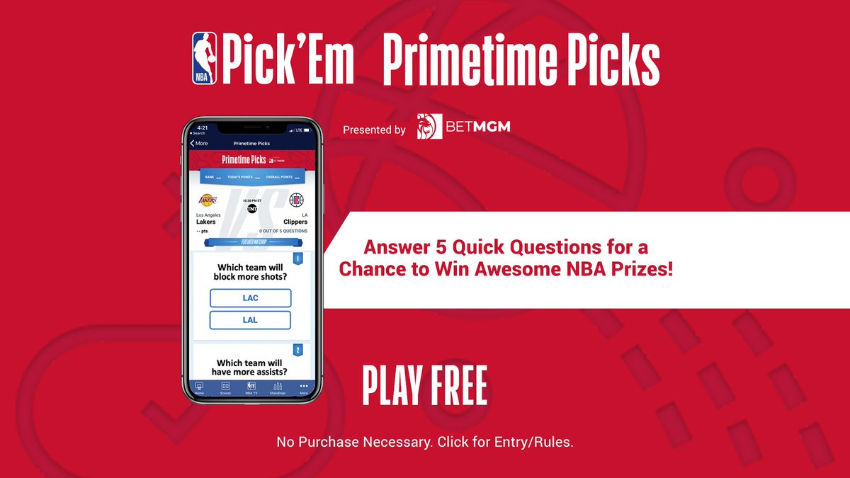 Which team will make more free throws tonight? The Brooklyn Nets or Denver Nuggets?  Play NBA Pick 'Em: Primetime Picks presented by @BetMGM for FREE.  ➡️ https://on.nba.com/36C1ZSx