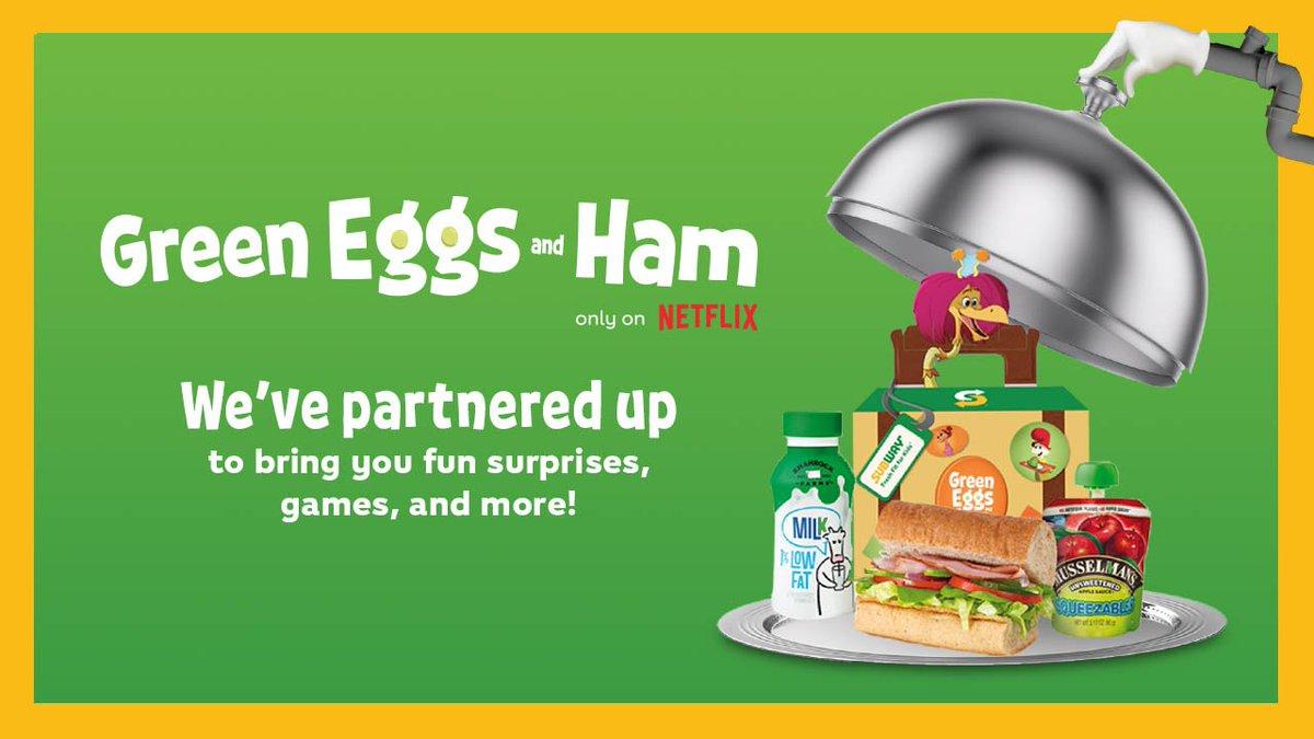 Resultado de imagem para subway Green Eggs and Ham