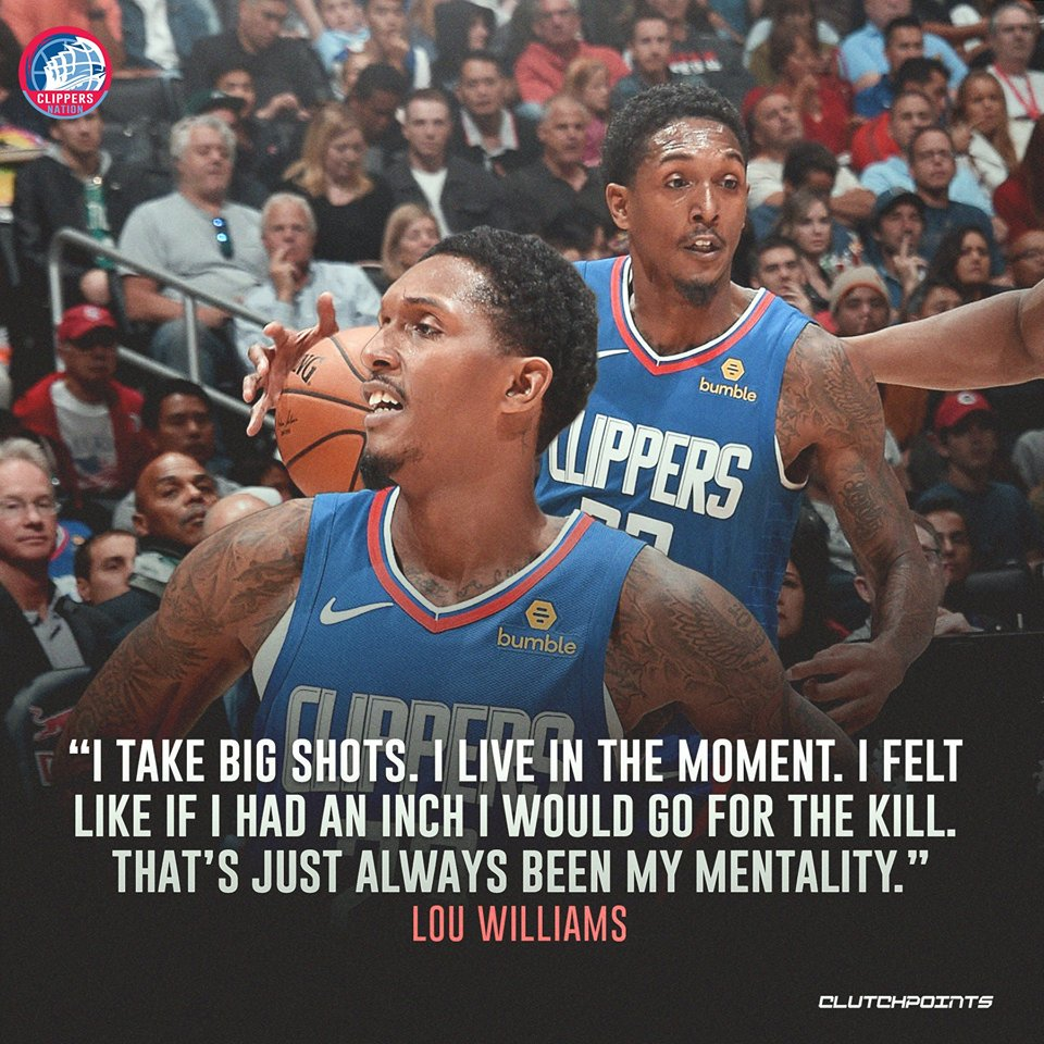 This is why Lou Wil is a KILLER! 😈 #Clippers #ClipperNation