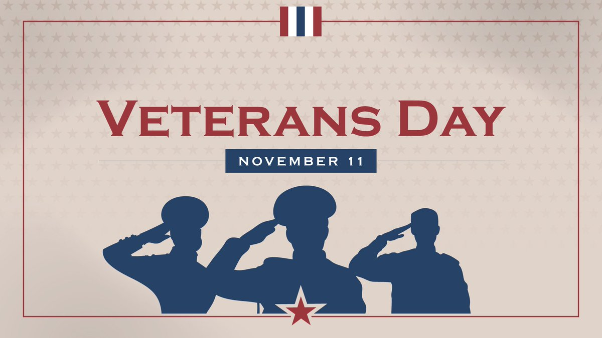 It was the 11th hour of the 11th day of the 11th month in 1918 that the fighting during World War I came to an end. Armistice Day as it was known became Veterans Day in 1954. Today we honor all those who have served in the Armed Forces of the United States.