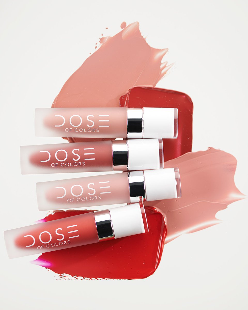 #DidYouKnow  these gorgeous @Doseofcolors  Liquid Lipstick Shades were ALL exclusively made for BoxyCharm?! 🌟