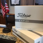 Image for the Tweet beginning: Straight from the @Titleist R&D