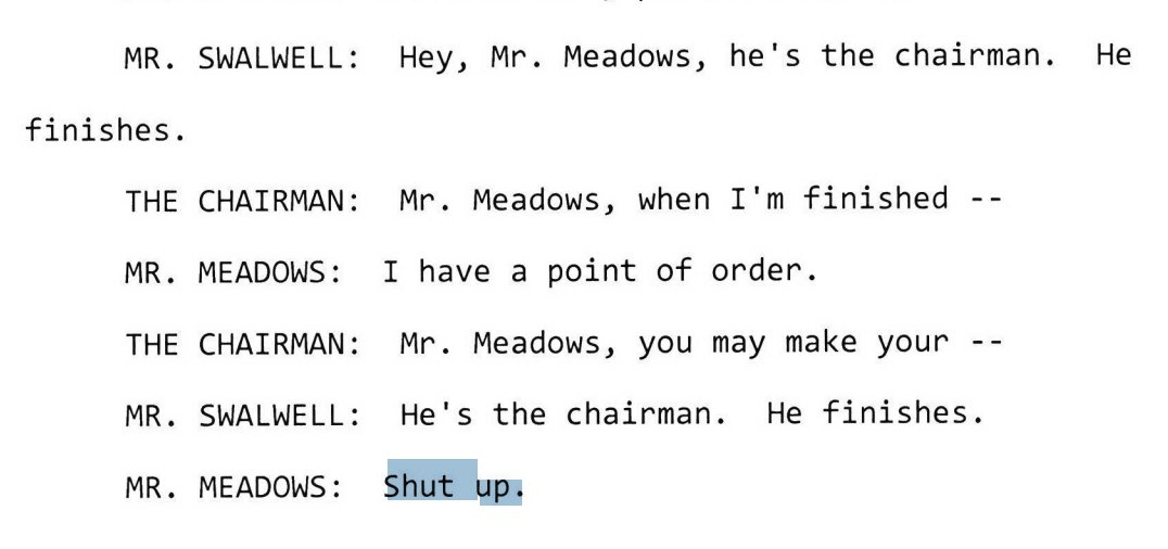 Mark Meadows Tells Eric Swalwell To 'Shut Up' During Vindman Testimony