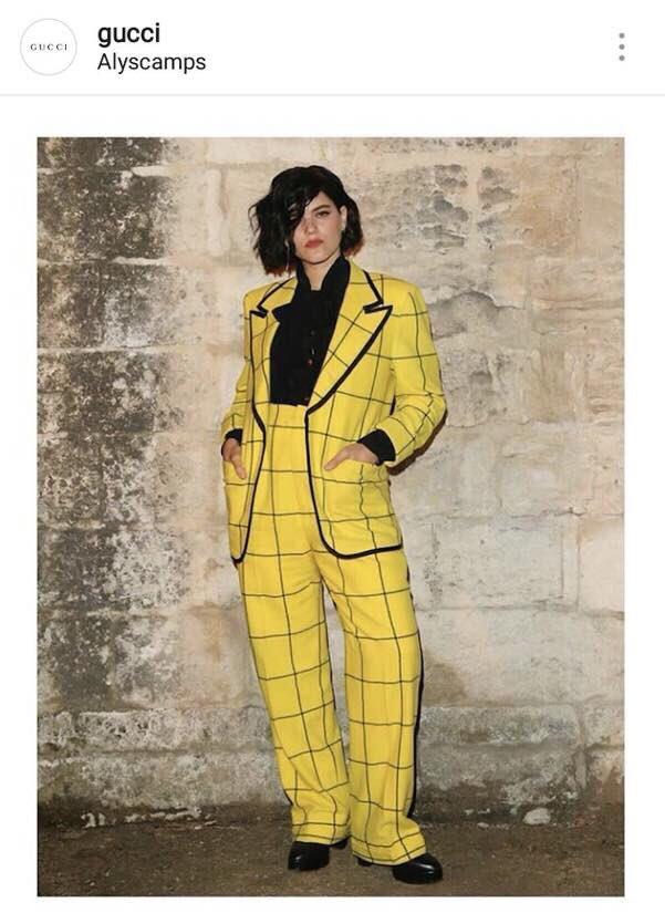 インスタでGucciのファッション紹介してるけど、完全にクレヨンしんちゃんのえんちょう先生と一致してる件について