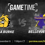 Watch Omaha Burke vs Bellevue West, 7pm tonight at DJ's Dugout! Exciting State Football Playoff Quarterfinal action! Good luck Omaha Burke & Bellevue West!