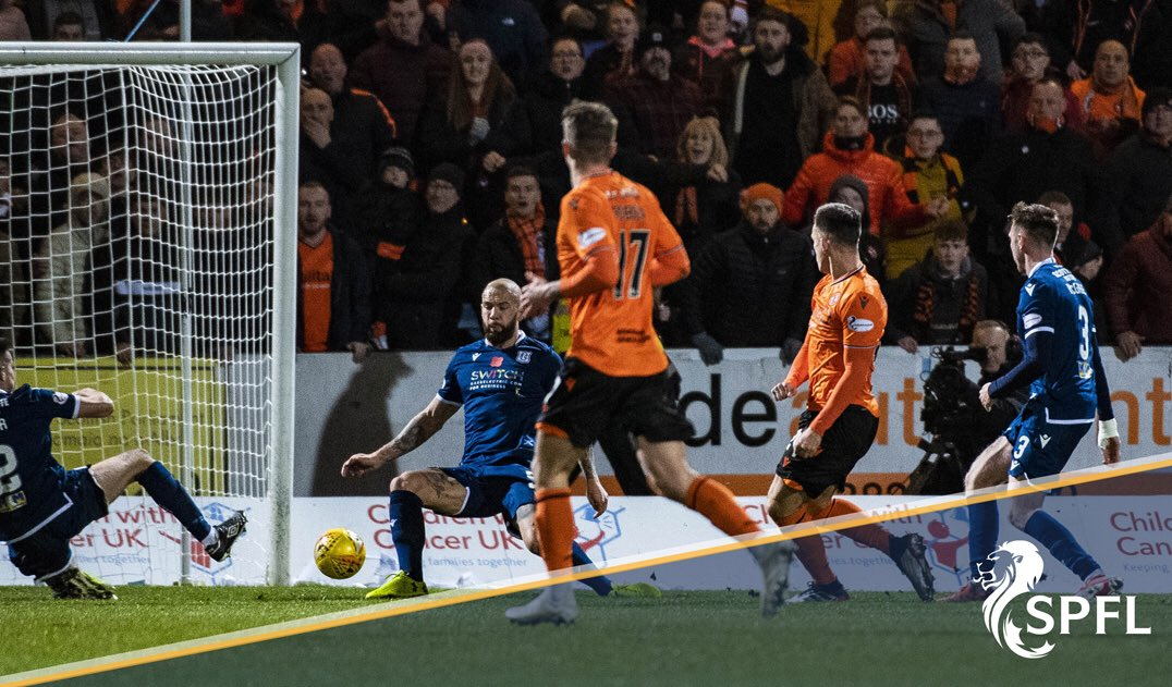 ⚽️🍊 @dundeeunitedfc beat city rivals @DundeeFC 2-0 to move six points clear in the Ladbrokes Championship, helped by a 17th league goal of the season from SPFL top scorer Lawrence Shankland.