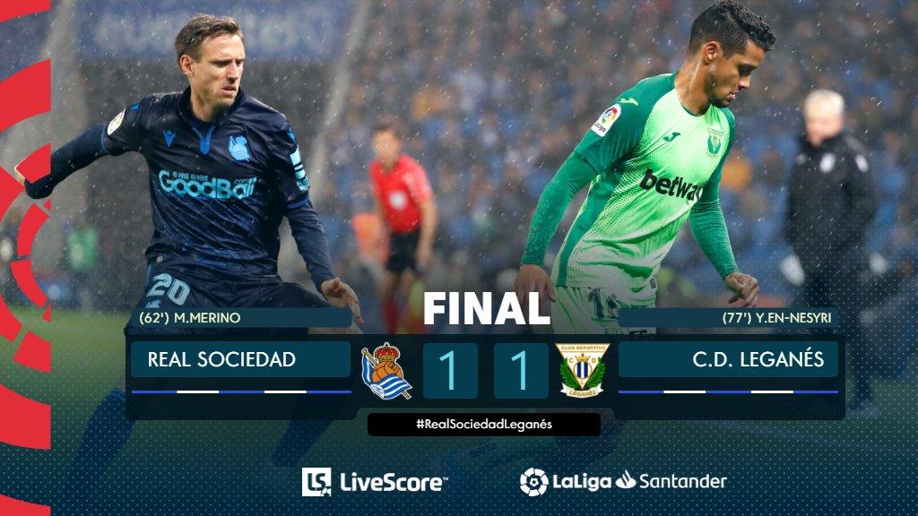 Real Sociedad-Leganés