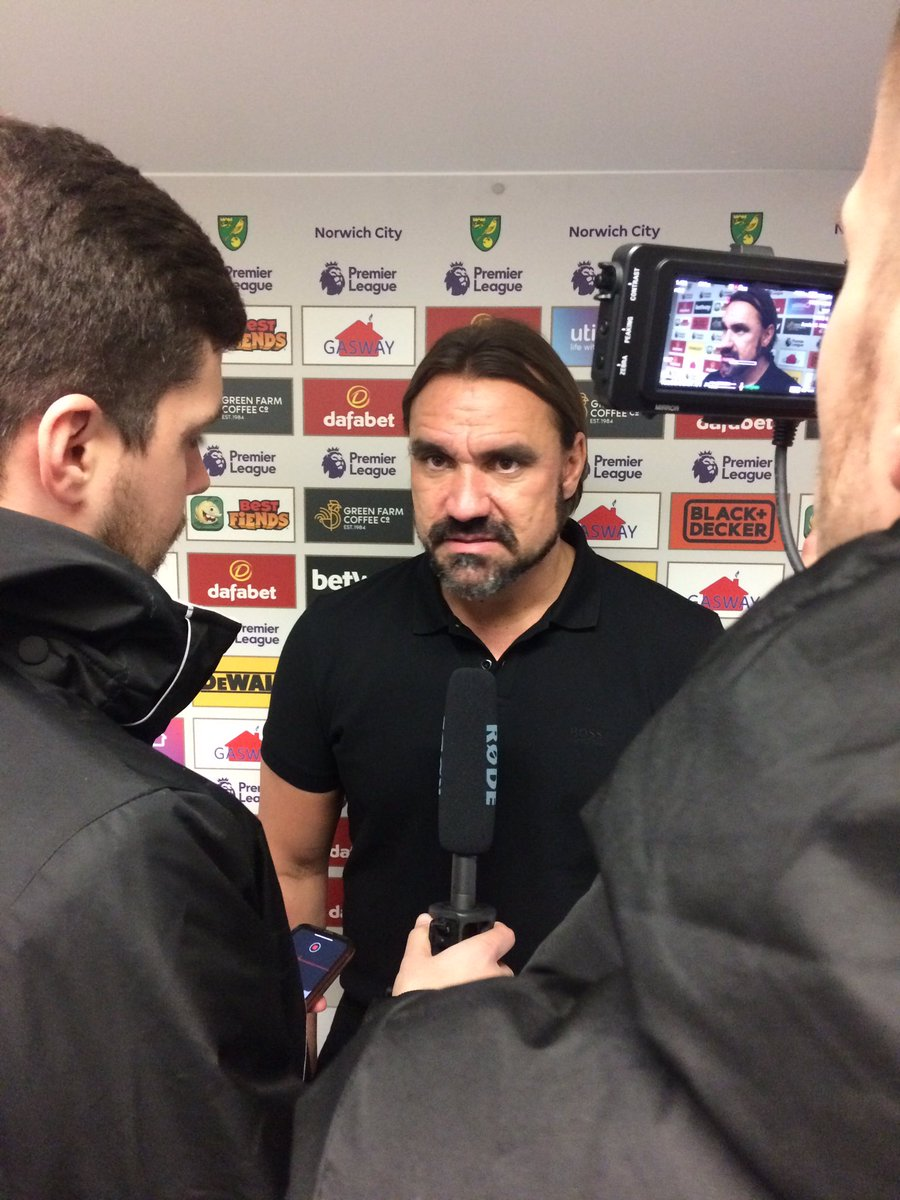 """💬 Daniel Farke reacts: """"It wasn't necessary to lose. We created situations close to their box but football is defined by small details."""" #ncfc"""