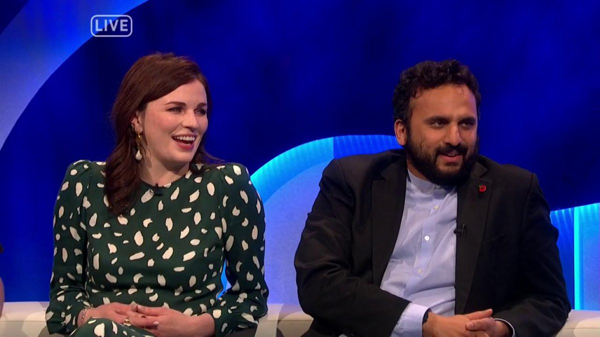 .@WeeMissBea and @MrNishKumar share their thoughts on the upcoming election. #TheLastLeg