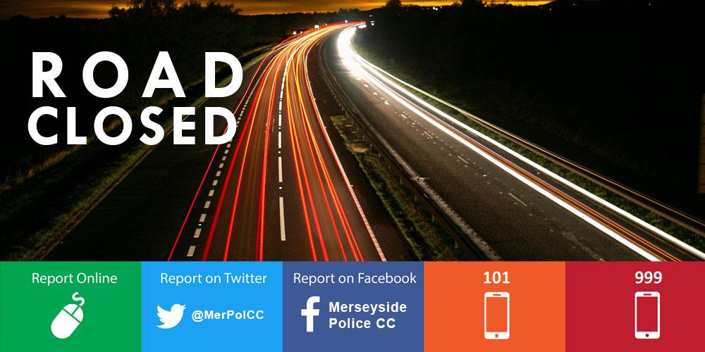 ⚠️ Motorists please be aware that due to an RTC road closures are in place at the junction of Great Charlotte St / Lime St and on St Johns Ln in Liverpool City Centre. Please avoid the area and plan your journeys accordingly.