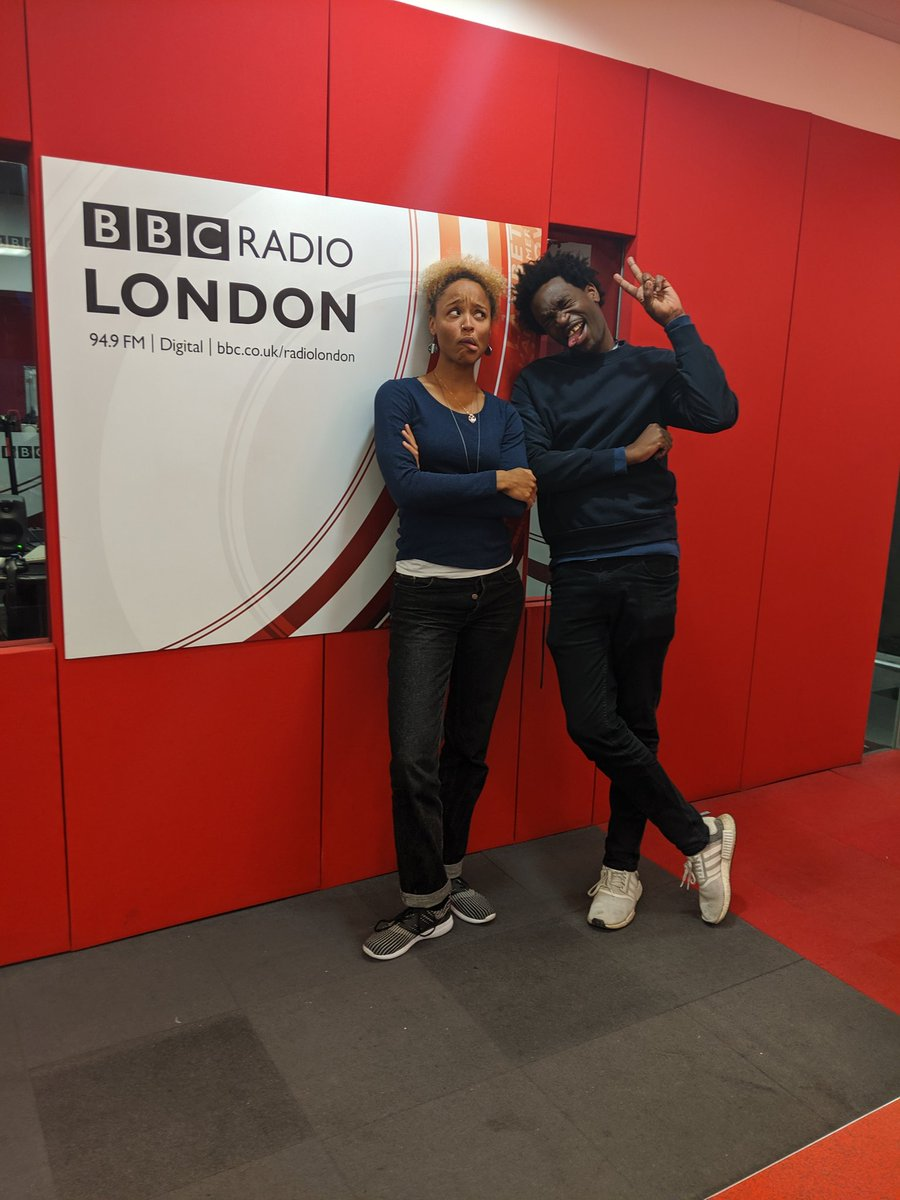 What a show tonight! Thank you to my team, to the incredible guests @JordanJsings @EmmavieSXF @LisaKingLondon @JerrelTheYoung for coming on! Energyyyyyy  Positivity X3!!! #TheScene @BBCRadioLondon https://t.co/AhhxGlKXHP