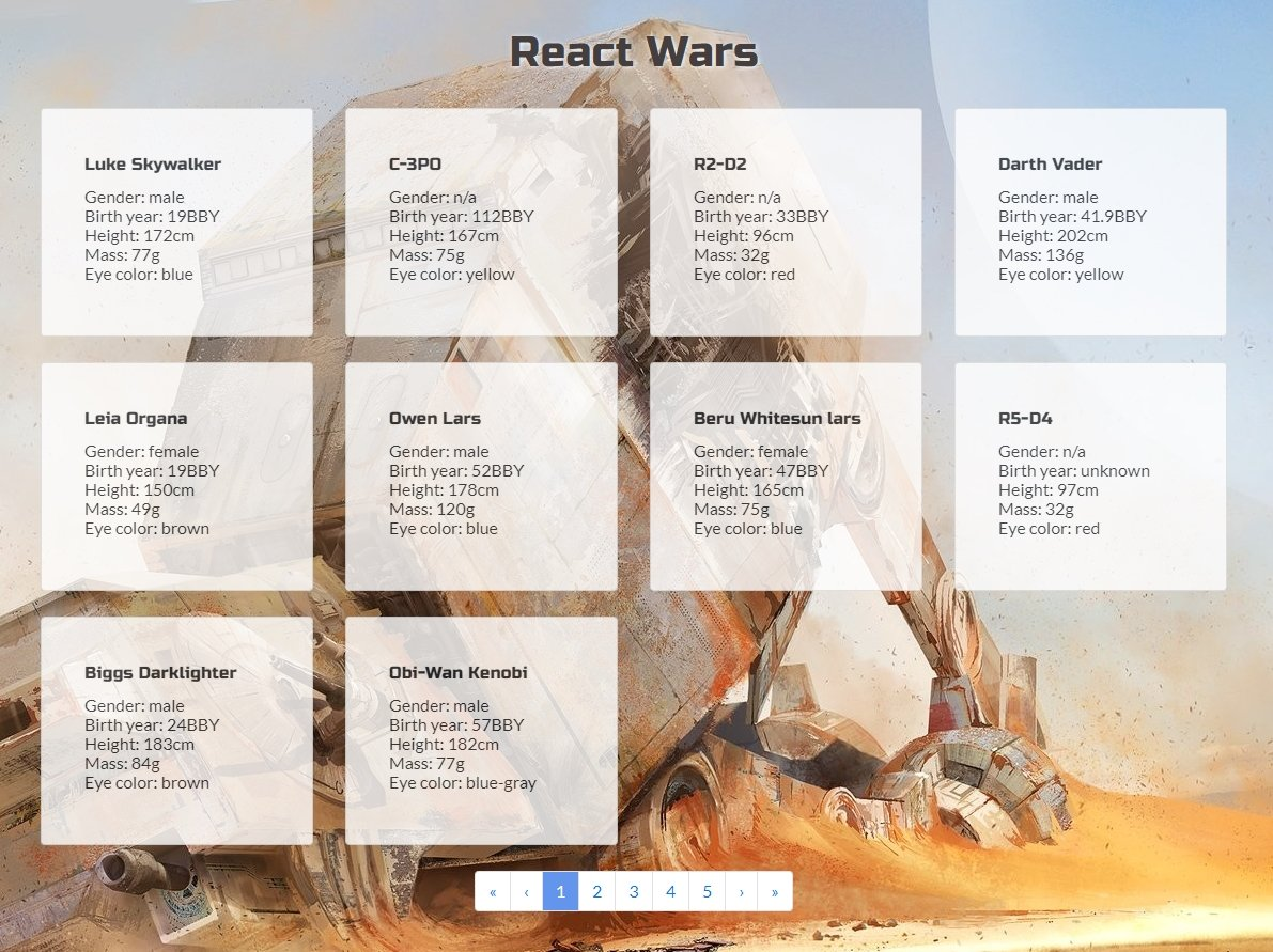 oh yeah, here's my sprint project from today! slowly getting the hang of React, it's fun