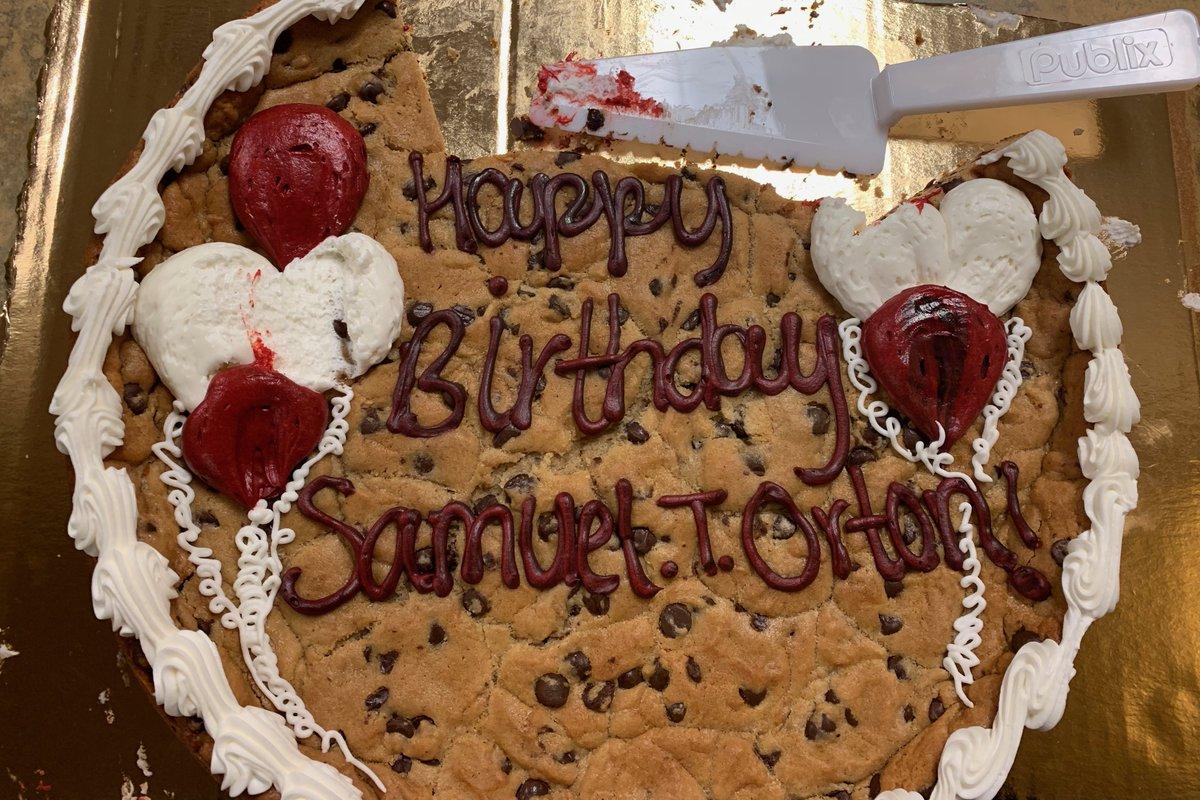 Orton Birthday Cake from my Orton Award talk #DyslexiaIDA #schenkschool