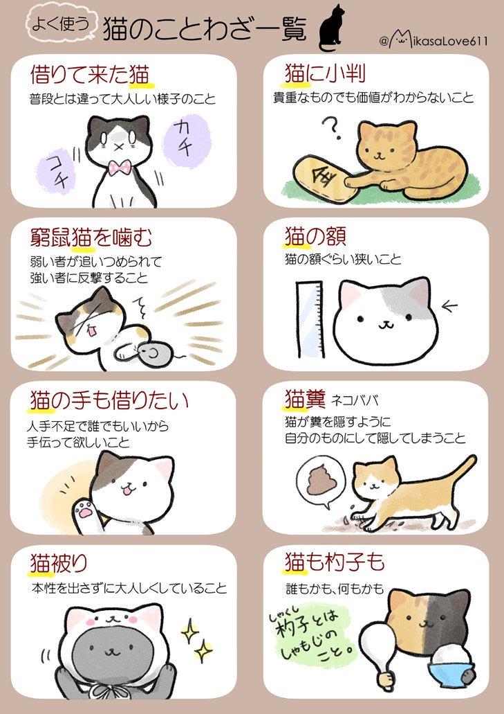 日本と海外の「猫」のことわざを集めてみました(*^^*) 私的にはフランスのことわざが好きです