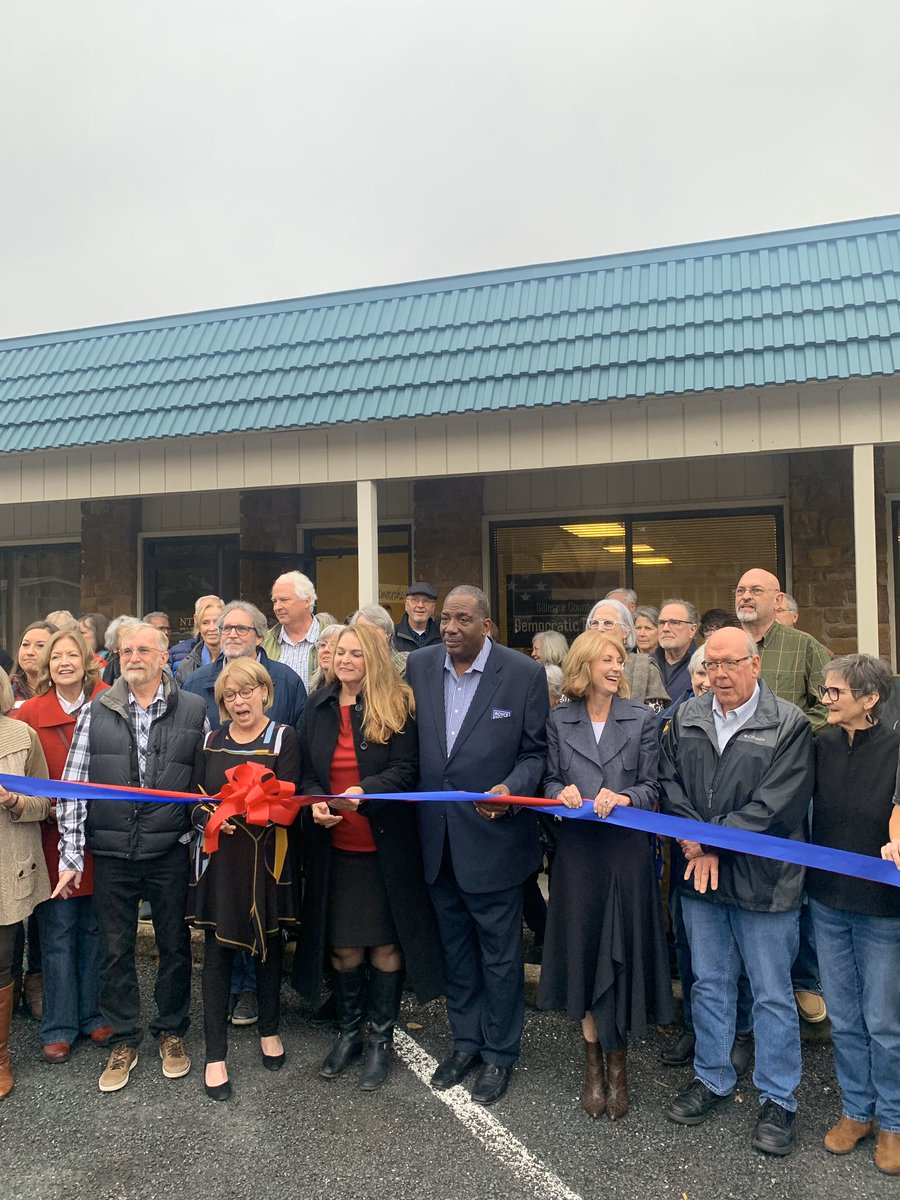 Congratulations to Gillespie County Dems on the opening of their HQ this evening! Loved sharing time with this amazing community and looking forward to sending Chip Roy packing with their help.#TX21