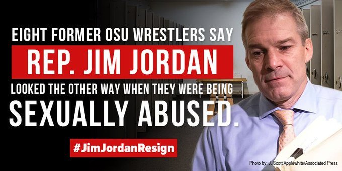 just saw a good name for old cauliflower ear #GymJacketOffJordan #JimJordanKnew THE assistant wrestling coach at THE ohio state u.