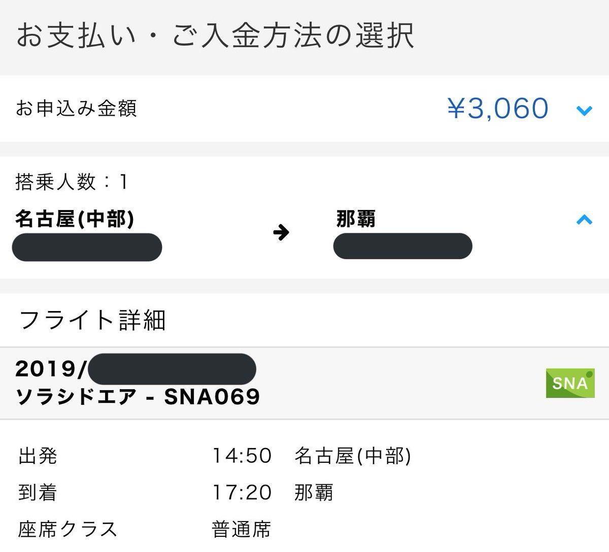ソラシドカード作ったらお得に名古屋から沖縄や鹿児島に行けるみたいですよね😊でもソラシドエア、有償でも安いから迷う。名古屋発だけ❓クレジットカードはあんまり作りたくないんですよね🤔来月⬇️これで沖縄行きます❣️