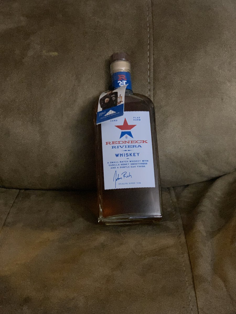 @cowboytroy What's funny is I just bought a bottle of @RedneckRiviera!