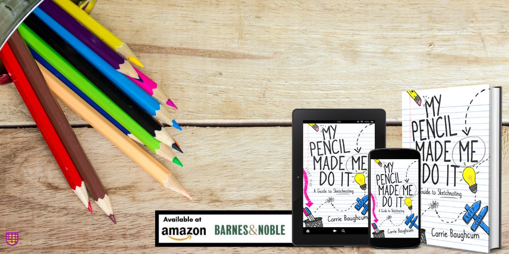 ✏️Want to increase Ss engagement? Grab @HeckAwesome NEW BOOK on #sketchnoting!   Full Color! + Top  @amazon NEW RELEASE! #EduGladiators   ✏️  ✏️  #amle2019 #TEACHBETTER19 #omla2019 #ASJADC2019 #ascdcel #4OCFpln