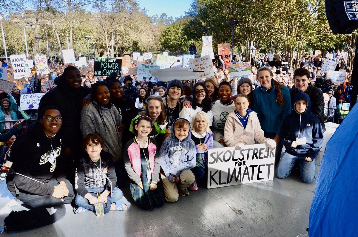 School strike week 64. Charlotte, North Carolina. #climatestrike #schoolstrike4climate #fridaysforfuture