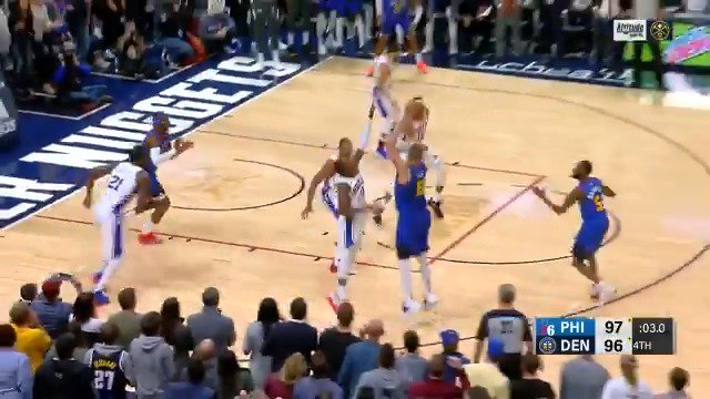 Watch the BEST of the @nuggets' franchise-record 19-point 4th quarter comeback victory over Philly! #MileHighBasketball https://t.co/rOYprZgEMT