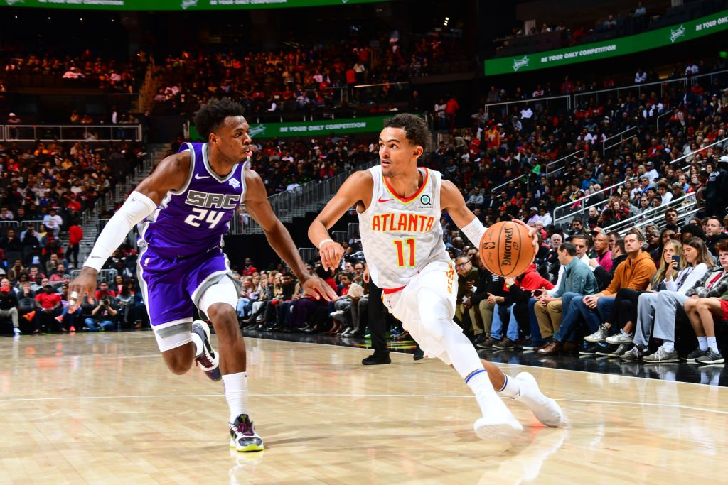 Trae Young is the first @ATLHawks player to produce at least 30 points and 5 steals in a game since Mike Bibby in January 2009, and the first to do that with 10+ assists since Pete Maravich in March 1974.