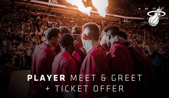 The squad returns to @AAarena Tuesday to take on Detroit and we have a special offer for you. Buy a ticket to that game right now using this link and you'll be guaranteed to meet a player afterwards.  Seriously... we guarantee it. Don't wait! https://gohe.at/2NY0OVd