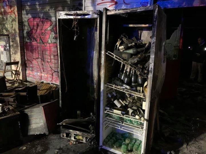 Un altro locale incendiato a Centocelle. È il Baraka bistrot. È il terzo in poco tempo, dopo la #Pecoraelettrica e una pizzeria nella stessa zona.