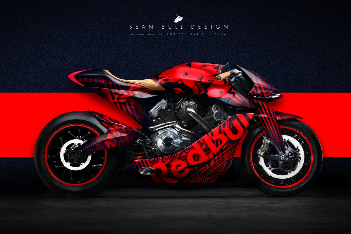 Sean Bull Design On Twitter Aston Martin Amb 001 Livery Concept Red Bull Valkyrie Camo Inspired Design Astonmartin Redbull Livery Amb001