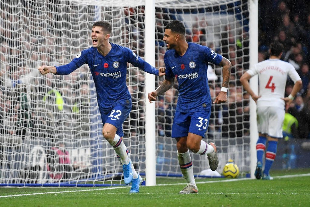 Christian Pulisic in his last three Premier League matches:  ⚽️⚽️⚽️ 🆚 Burnley. ⚽️ 🆚 Watford 🐝. ⚽️ 🆚 Crystal Palace 🦅.  #CHECRY.