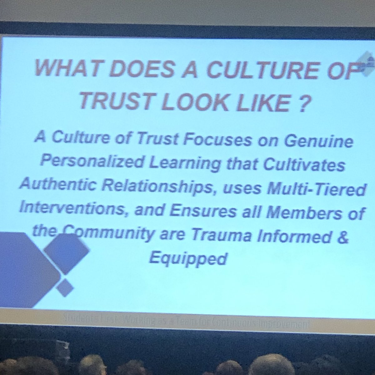 📌 When you lose hope you lose your people.   📌 Programs come and go with leaders/money but systems will remain.   📌 Seek to understand in order to serve.   📌 You don't have to look like me to be for me.   -Dr. Tiffany Anderson    #ASCDCEL ❤️
