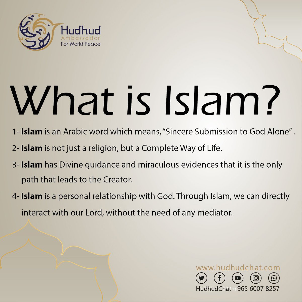 What is #Islam?  Check answer below.  For more, Please come and #chat with us #live!    https:// chat.hudhud.info      #HudhudChat  #UK #USA  #SpringDay1000Days<br>http://pic.twitter.com/oY52ZpZBUq