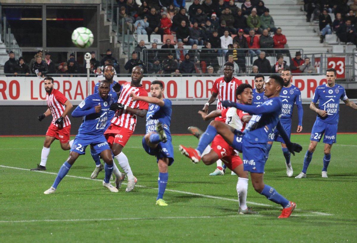 Image for the Tweet beginning: ⚽ #ASNLESTAC match parrainé par