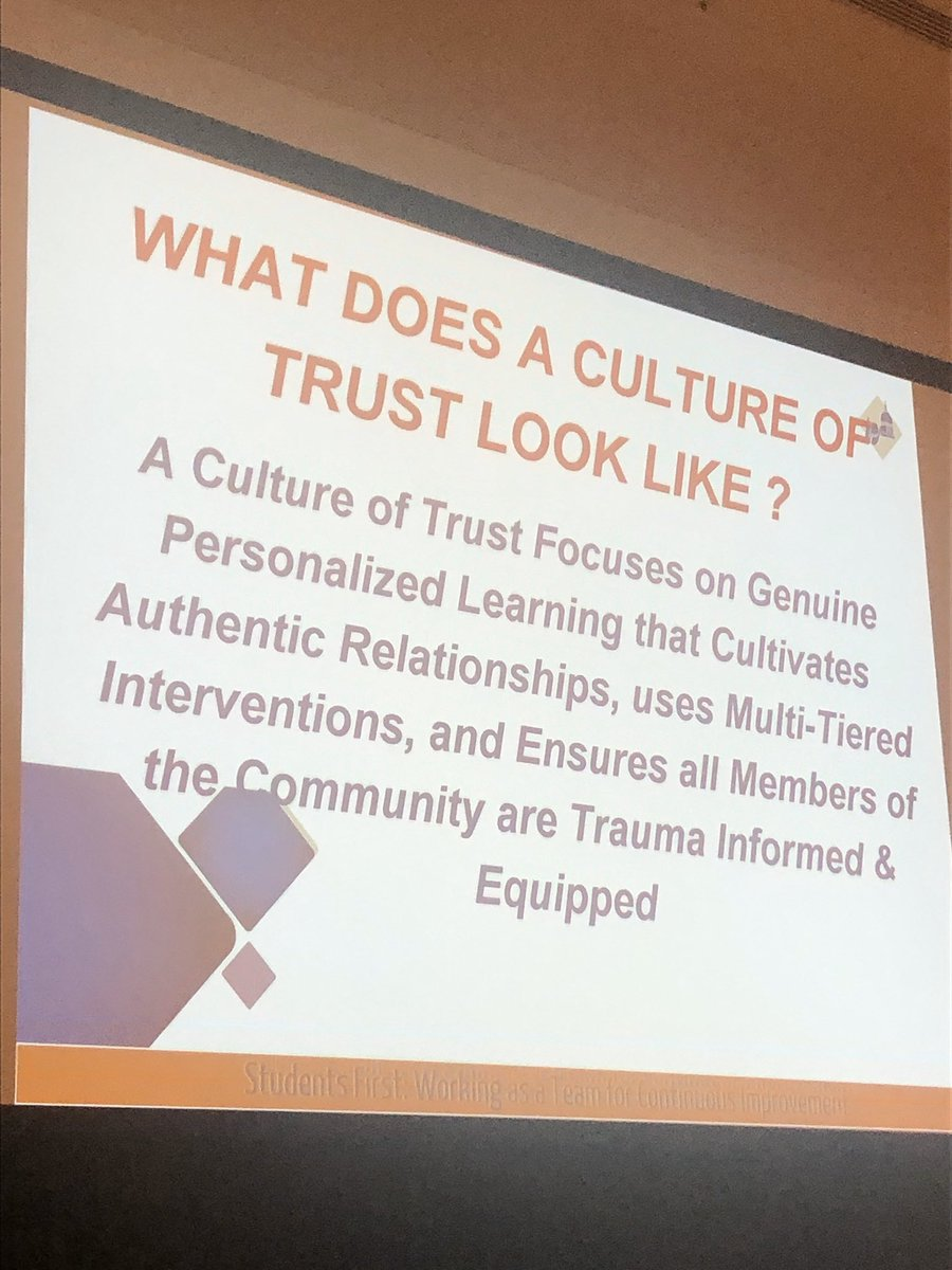 Dr. Tiffany Anderson cuts straight to truth with the need to intentionally build a culture of trust for true success! #ASCDCEL