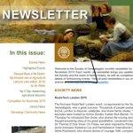 Image for the Tweet beginning: Society of Genealogists' Nov newsletter