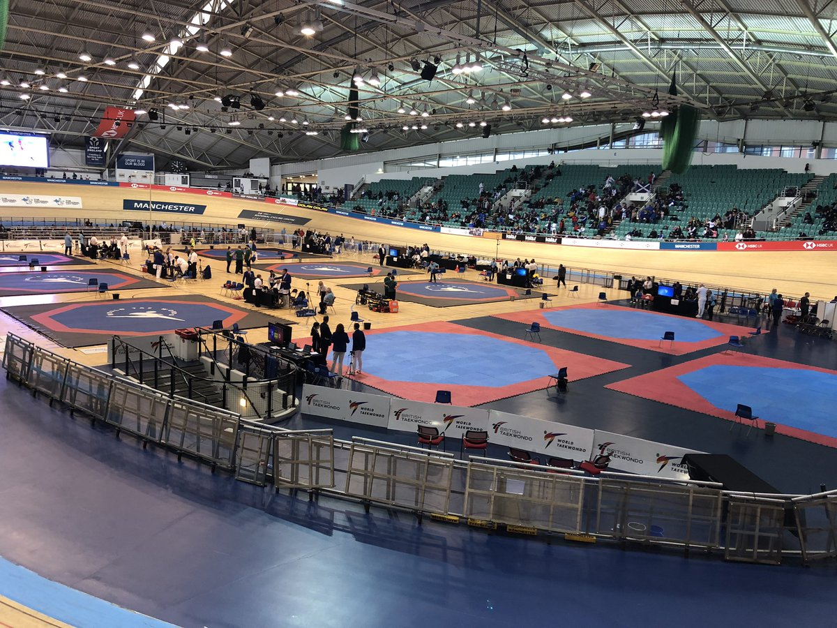 🗣| And so it begins... The Kyorugi National Championships are about to kick off 🇬🇧🥋 Day 1️⃣ draw sheets 👉 bit.ly/2qDgpRQ #TaekwondoNationals2019