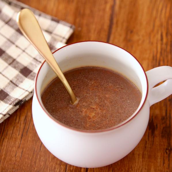 【レシピ】寒い季節にこれ最高!ミルクティーに「チョコ」ひとかけ入れると・・・