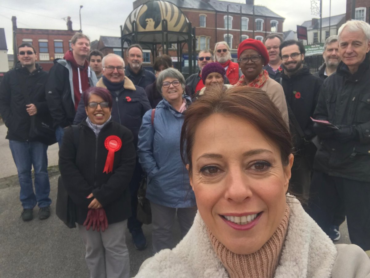We are out in Eastwood for the our fabulous candidate @Nataliefleet