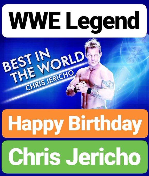 Happy Birthday  Chris Jericho