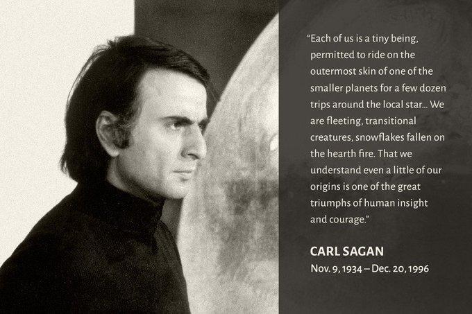 Happy Birthday Carl Sagan.